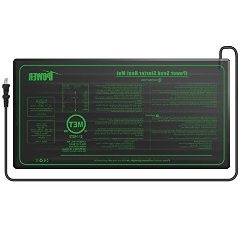 """iPower 10"""" x Warm Thermostat Control for Germination"""