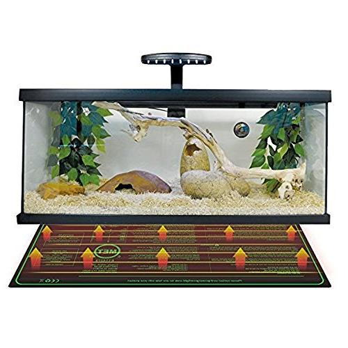 """iPower 10"""" x 20.5"""" Warm Hydroponic Heat Mat and Thermostat Control Set for"""