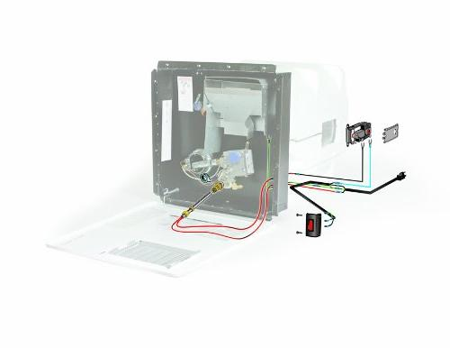 Camco Hot Hybrid Heat Kit - Easily Converts Any RV LP Water Heater to 120V Conserve Propane