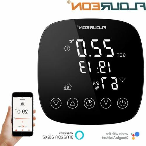 smart wifi digital thermostat humidity sensor programmable