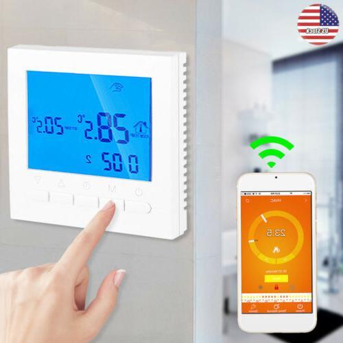 wifi smart digital wireless programmable home thermostat