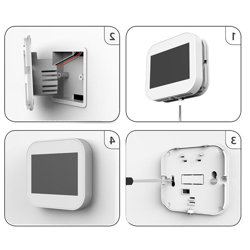 WiFi Smart Temperature <font><b>Controller</b></font> for floor Heating Water/Gas Works with