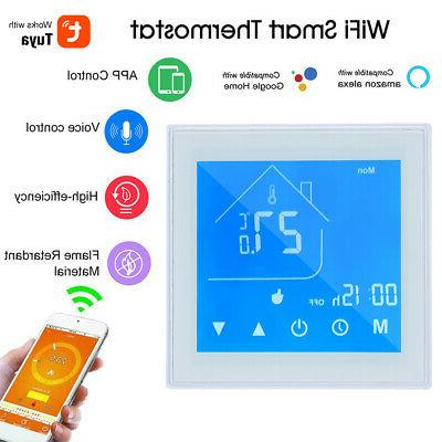 wifi smart thermostat temperature controller lcd fit