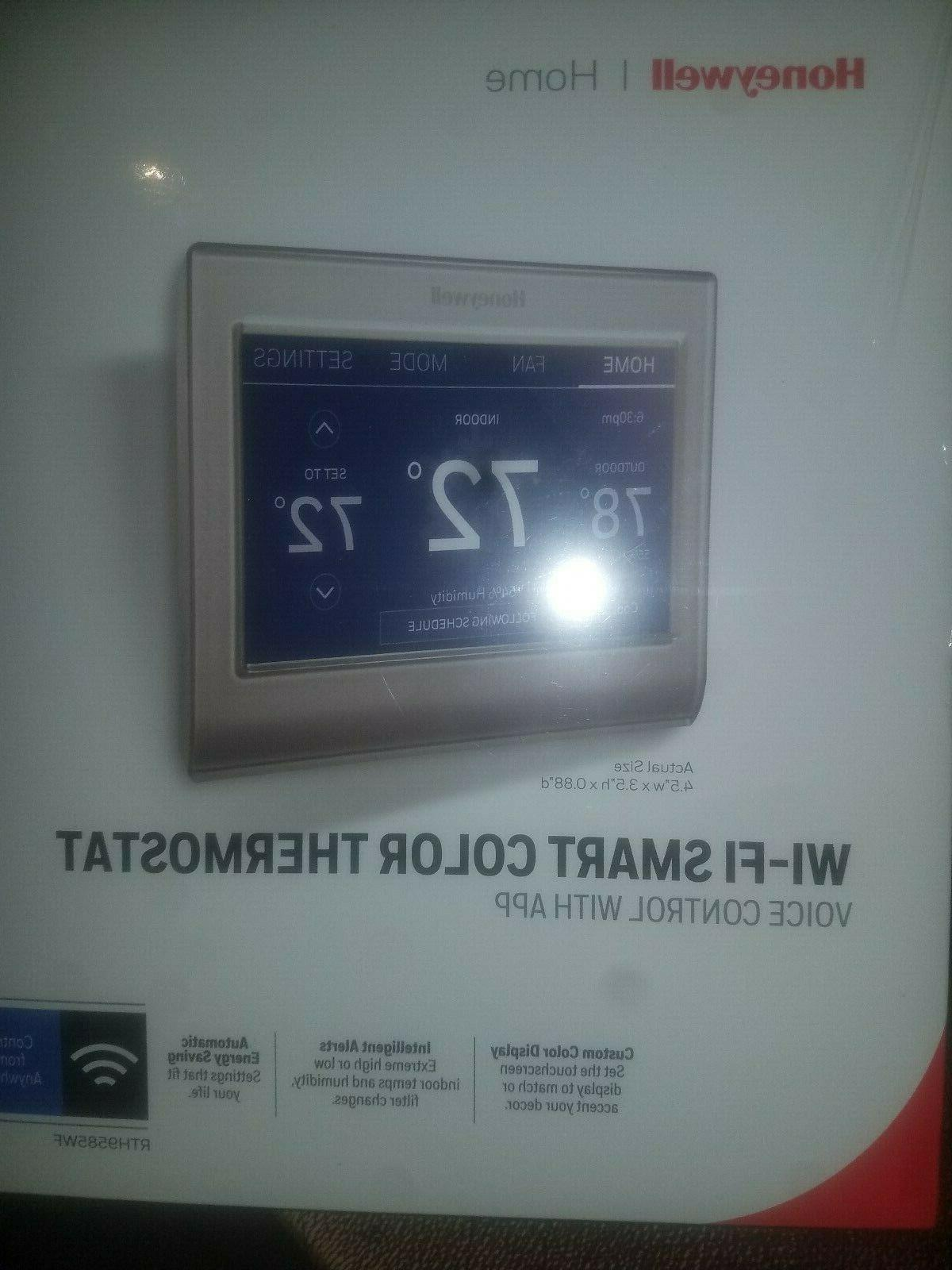 wifi smart thermostat touchscreen color rth9585wf brand