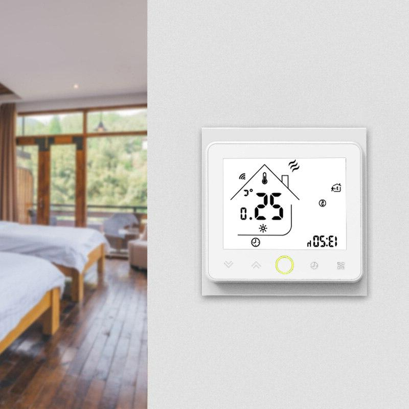 WIFI Smart Touch <font><b>Thermostat</b></font> Water Electirc Floor Heating Water Temperature Controller <font><b>Home</b></font>