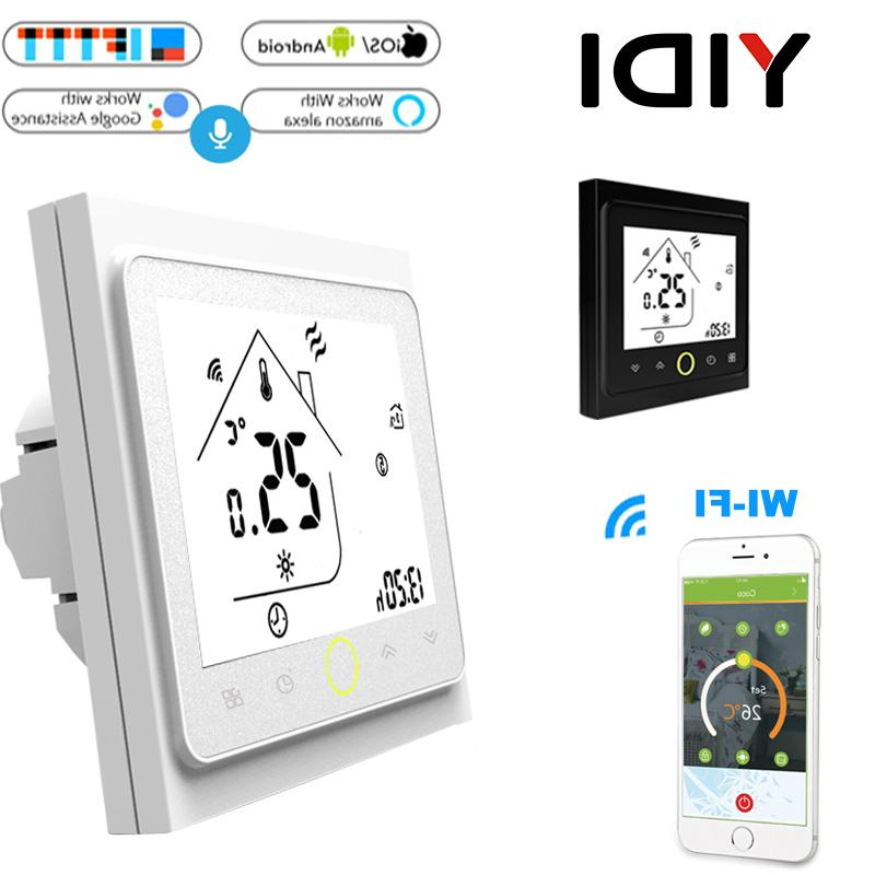 wifi smart touch font b thermostat b