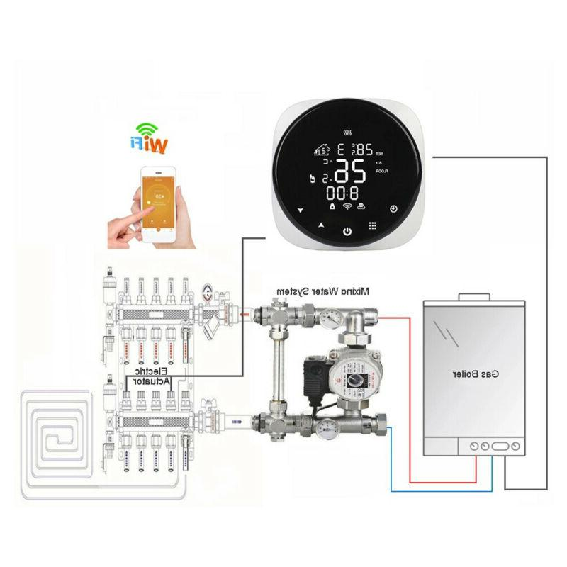 WiFi Electric Floor Heating Smart Fit For Google Home