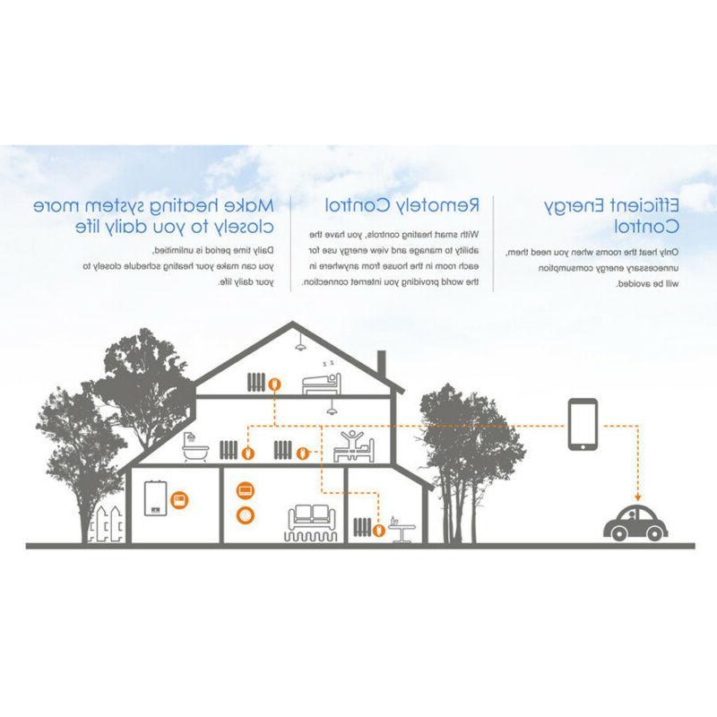 WiFi Electric Heating
