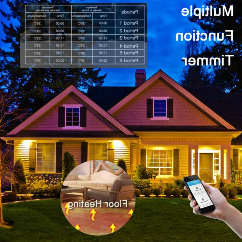WiFi Thermostat Electric Floor Heating For