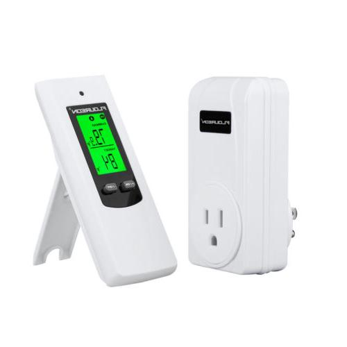 Wireless RF Thermostat In Home Heating Cooling Controller