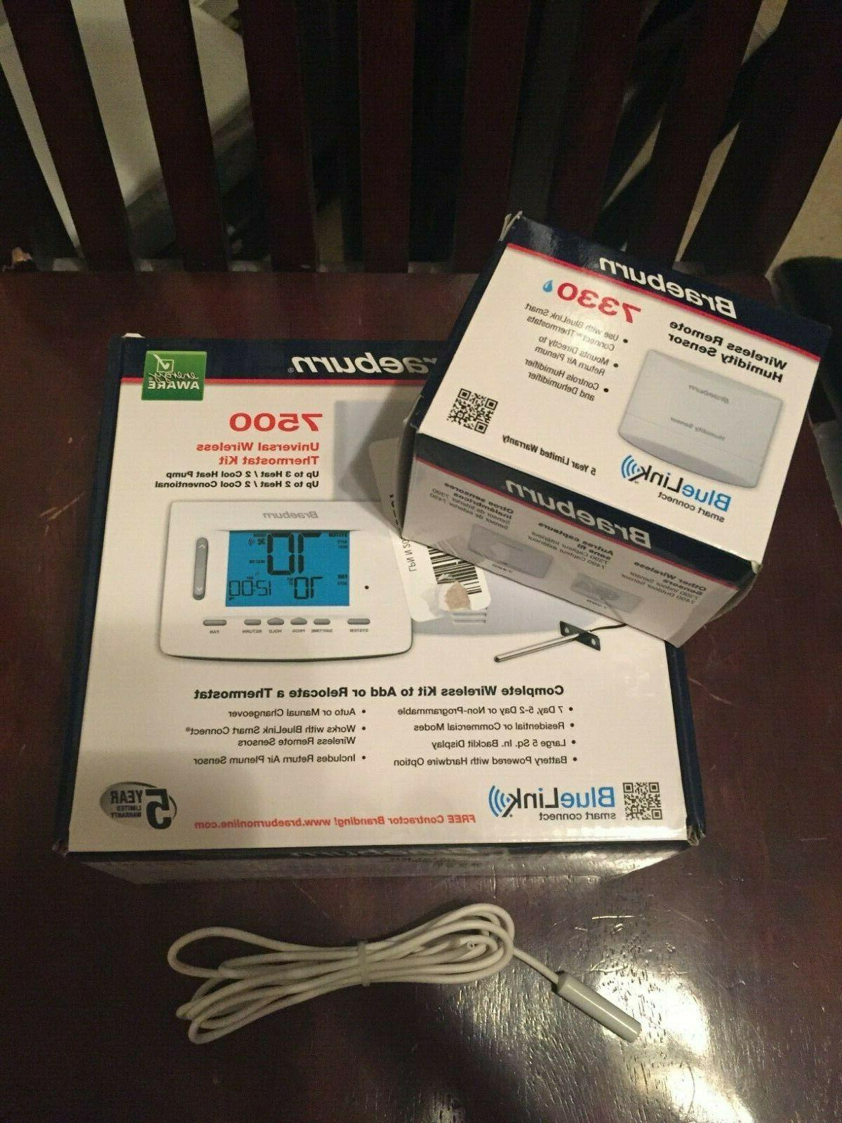 wireless thermostat 7500 humidity control 7330 outdoor