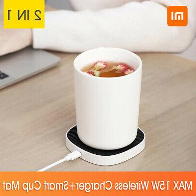 xiaomi xiaoda smart thermostat wireless charger cup