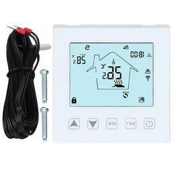 LCD Screen WiFi Underfloor Thermostat Intelligent Remote Con