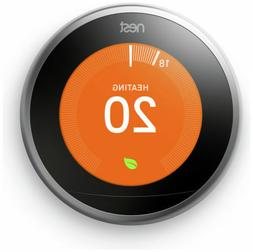 NEST Learning Thermostat - 3rd Generation- Smart Home Automa