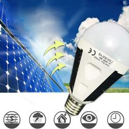 Led Solar Bulb Waterproof Home Outdoor Camping Emergency Lig