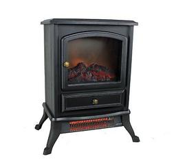 Warm Living 1000W Electric Infrared Space Stove Fireplace He