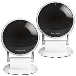 Honeywell 2-Pack Lyric C2 Indoor 1080p Wi-Fi Home Security S
