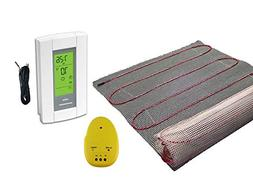 15 Sqft Mat, Electric Radiant Floor Heat Heating System with