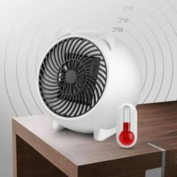 Mini Space Heater Portable Winter Warmer Fan Personal Electr
