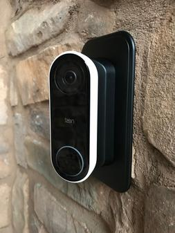 Nest Hello Doorbell Wall Plate   45° degree Angle Mount Kit