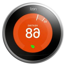 Nest Labs T3007ES Programmable Thermostat, 3rd Generation, W