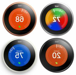 Nest Learning Thermostat 3rd Generation, Works with Google H