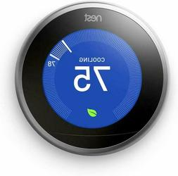NEST Learning Thermostat  #T3007EF 3rd Generation NEW Sealed