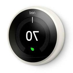 GOOGLE Nest Smart Thermostat ENERGY STAR with Remote, Remova