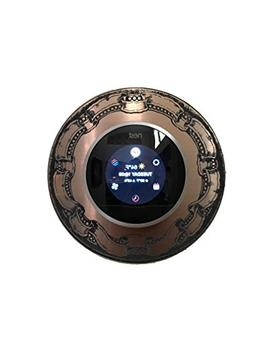 Nest Thermostat wall plate - Antique Bronze with Antique sty
