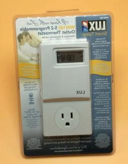 New Lux 5-2 Programmable Outlet Thermostat WIN100