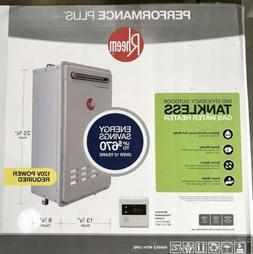 New RHEEM ECO200XLN3-1 OUTDOOR TANKLESS GAS WATER HEATER 9.5