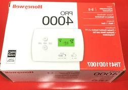 New Honeywell Programmable Thermostat PRO 4000 TH4210D1005 H
