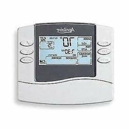 NEW Aprilaire Thermostat, Programmable Dual Powered-Heat/1-C