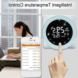 ntc sensor lcd smart wifi thermostat app