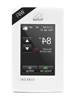 nuheat thermostat signature home element 3 styles