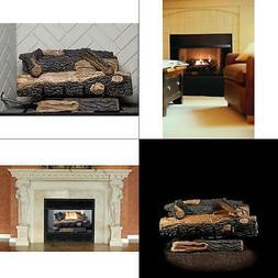 Emberglow Oakwood 24 In. Vent-Free Propane Gas Fireplace Log