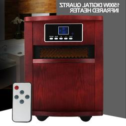 portable electric digital infrared quartz space heater