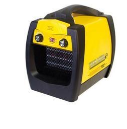 Portable Heater Fan Electric Workbox Heavy Duty Digital LED