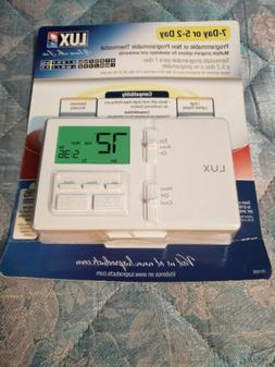 Lux Products TX100E TX100E-7 Thermostat, White