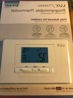 Lux Products TX500U Universal 5-2 Day Programmable Thermosta
