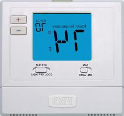 Rheem Ruud Pro1 T701 Non-Programmable Thermostat