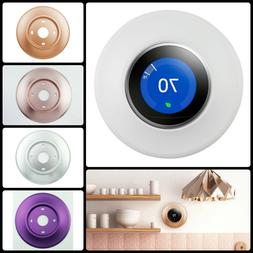 Rounded Wall Plate Metal Cover for Nest Thermostat 3rd 2nd 1
