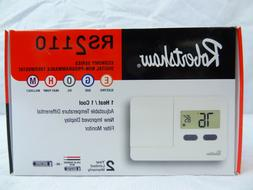 Robertshaw RS2110 Digital Non-Programmable Thermostat 1 Heat