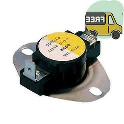 Supco Shl160 Thermostat Limit Control For Home Heater, 160 D