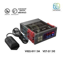 SHT2000 AC 110V 220V DC 12V-72V Digital Temperature Humidity