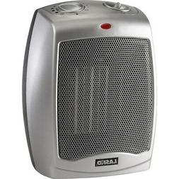 Lasko Silver Ceramic Heater with Adjustable Thermostat - 754