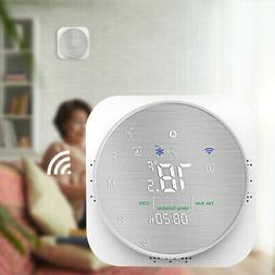Smart Home Programmable Thermostat WiFi Voice Mobile Phone A