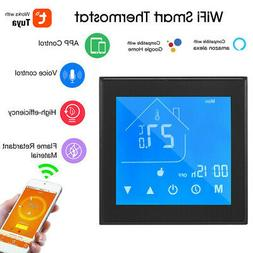 Smart Home Programmable Wifi Wireless Heated Thermostat LCD