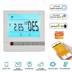 Smart Home Wifi Thermostat Remote Temperature Alexa Google H