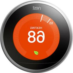 Google Nest Smart Thermostat - 3rd Gen - Works with Alexa, G